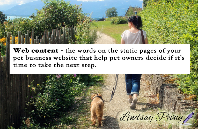 Your #webcontent should clearly and concisely tell your reader everything they need to know about your business. When was the last time you updated your static pages (home, about, services)?