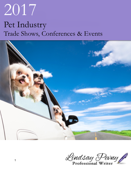 2017 Pet Industry Events for pet sitters, veterinarians, groomers