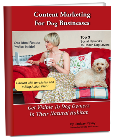 Cover Content Marketing For Dog Businesses Free PDF copy