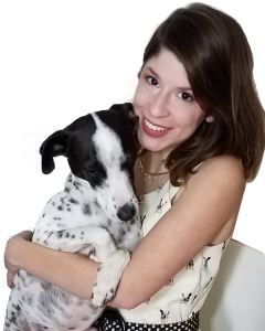 About Pet Copywriter Lindsay Pevny and Dog Cow