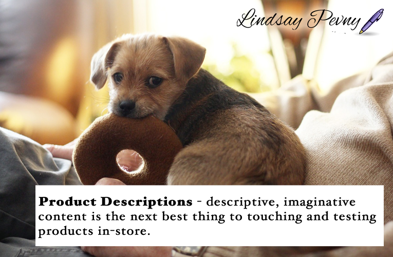 Descriptive, imaginative #productdescriptions are the next best thing to shopping at the mall. Do your product descriptions enrich your customer's online shopping experience?